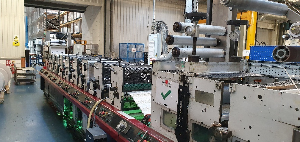 Mark Andy 4150 - Used Flexo Printing Presses and Used Flexographic Equipment-11