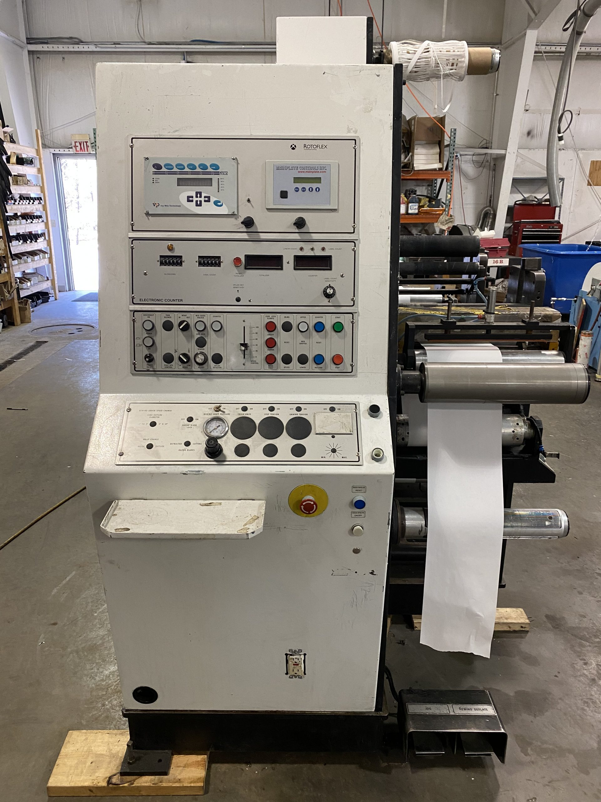 Rotoflex DLI330 - Used Flexo Printing Presses and Used Flexographic Equipment-14