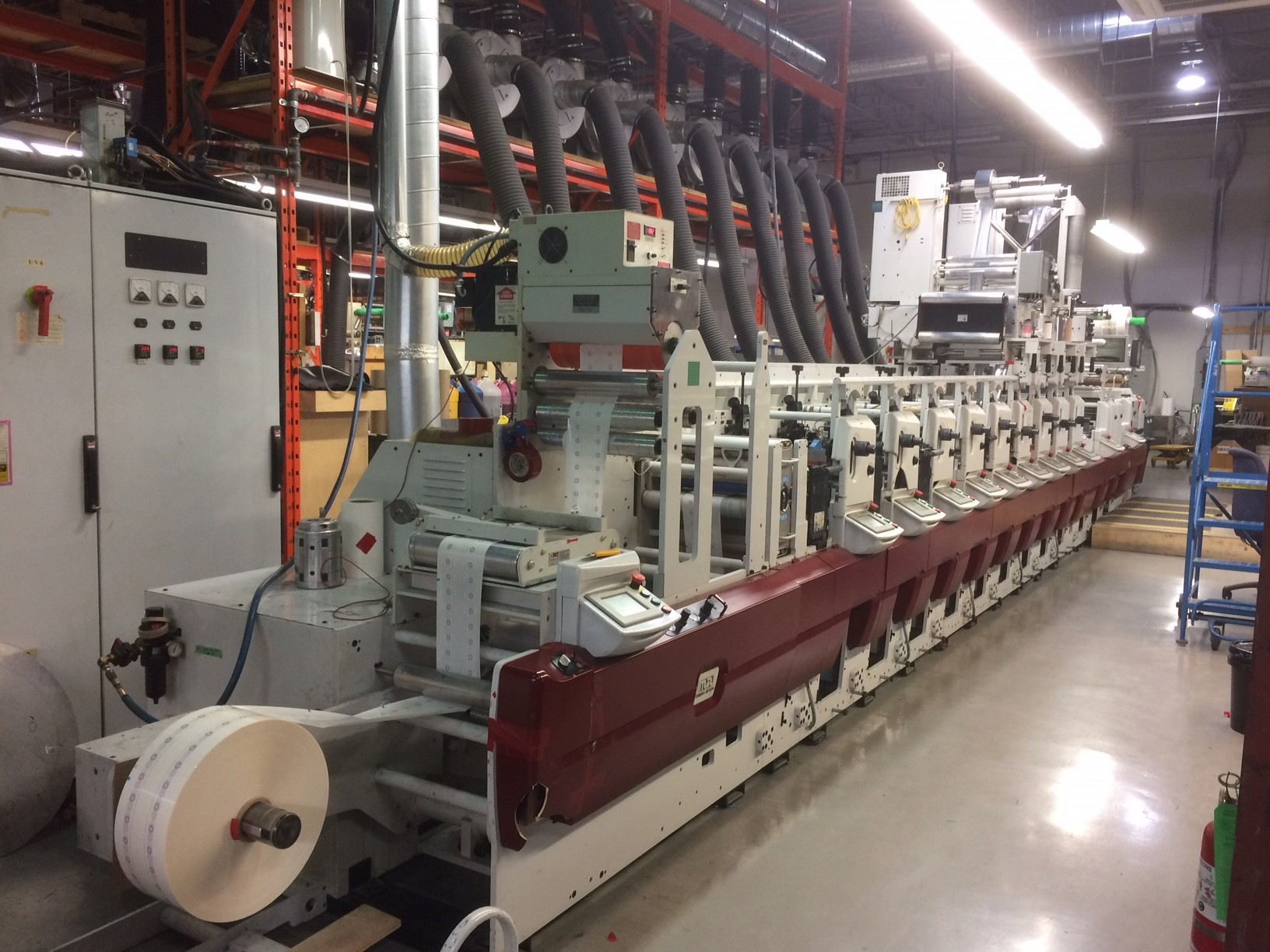 Mark Andy XP5000 - Used Flexo Printing Presses and Used Flexographic Equipment-3