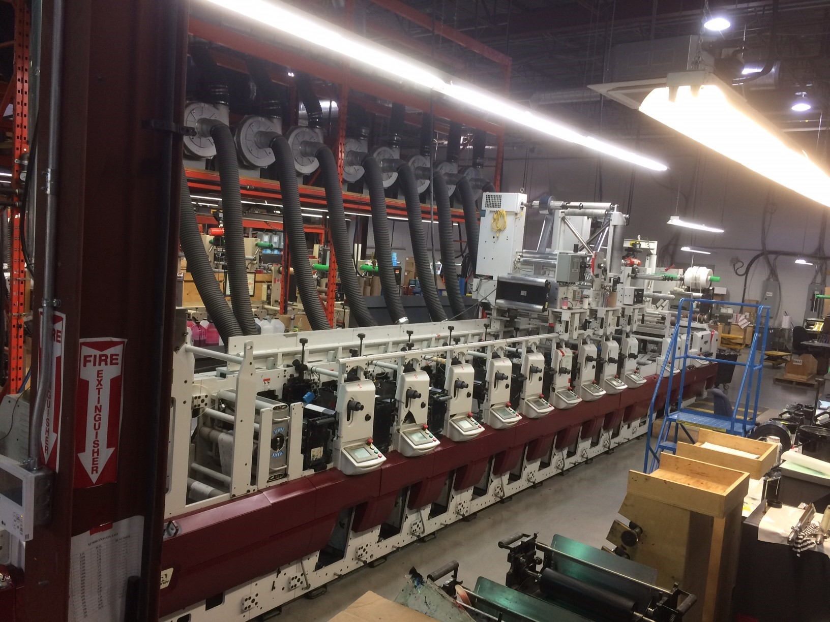 Mark Andy XP5000 - Used Flexo Printing Presses and Used Flexographic Equipment-4