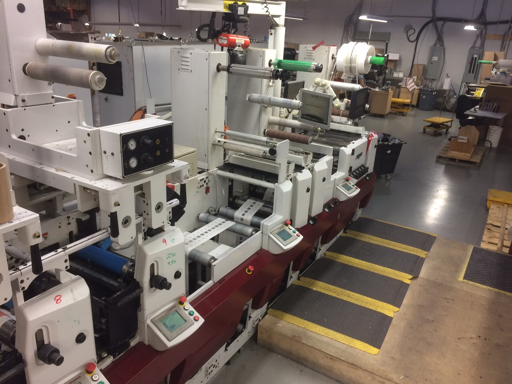 Mark Andy XP5000 - Used Flexo Printing Presses and Used Flexographic Equipment-7