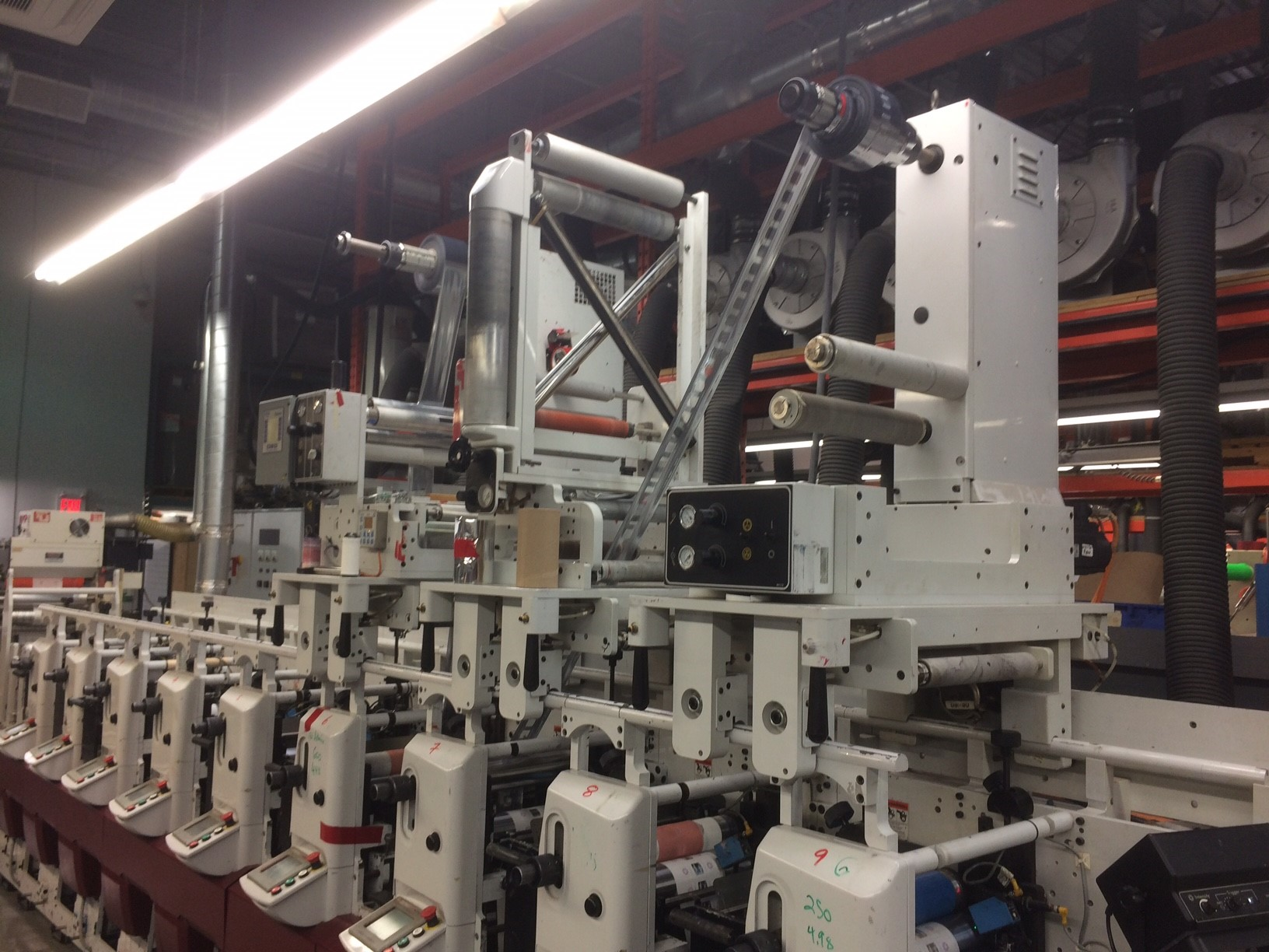 Mark Andy XP5000 - Used Flexo Printing Presses and Used Flexographic Equipment-9