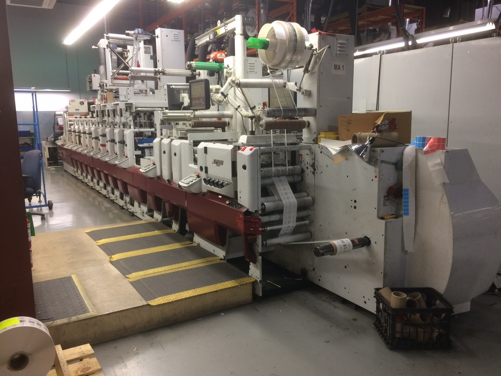 Mark Andy XP5000 - Used Flexo Printing Presses and Used Flexographic Equipment-10