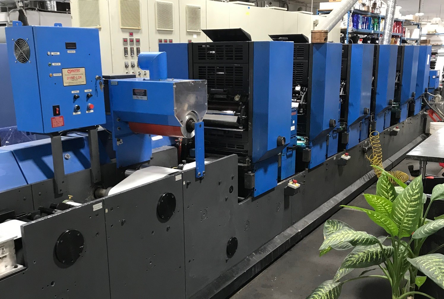 Gallus TCS250 - Used Flexo Printing Presses and Used Flexographic Equipment-0