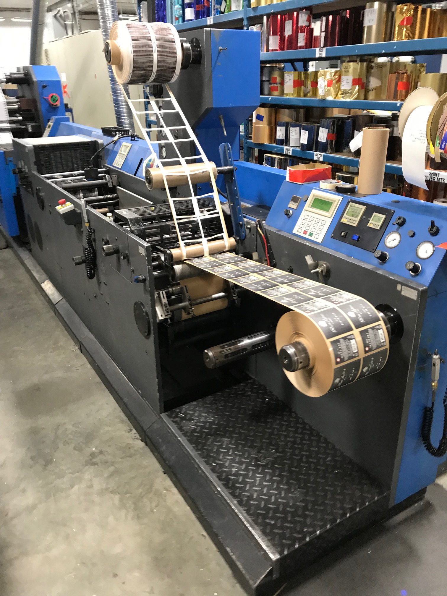 Gallus TCS250 - Used Flexo Printing Presses and Used Flexographic Equipment-2