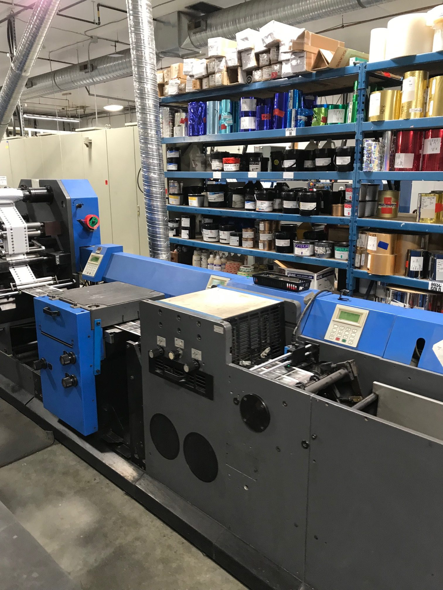 Gallus TCS250 - Used Flexo Printing Presses and Used Flexographic Equipment-3