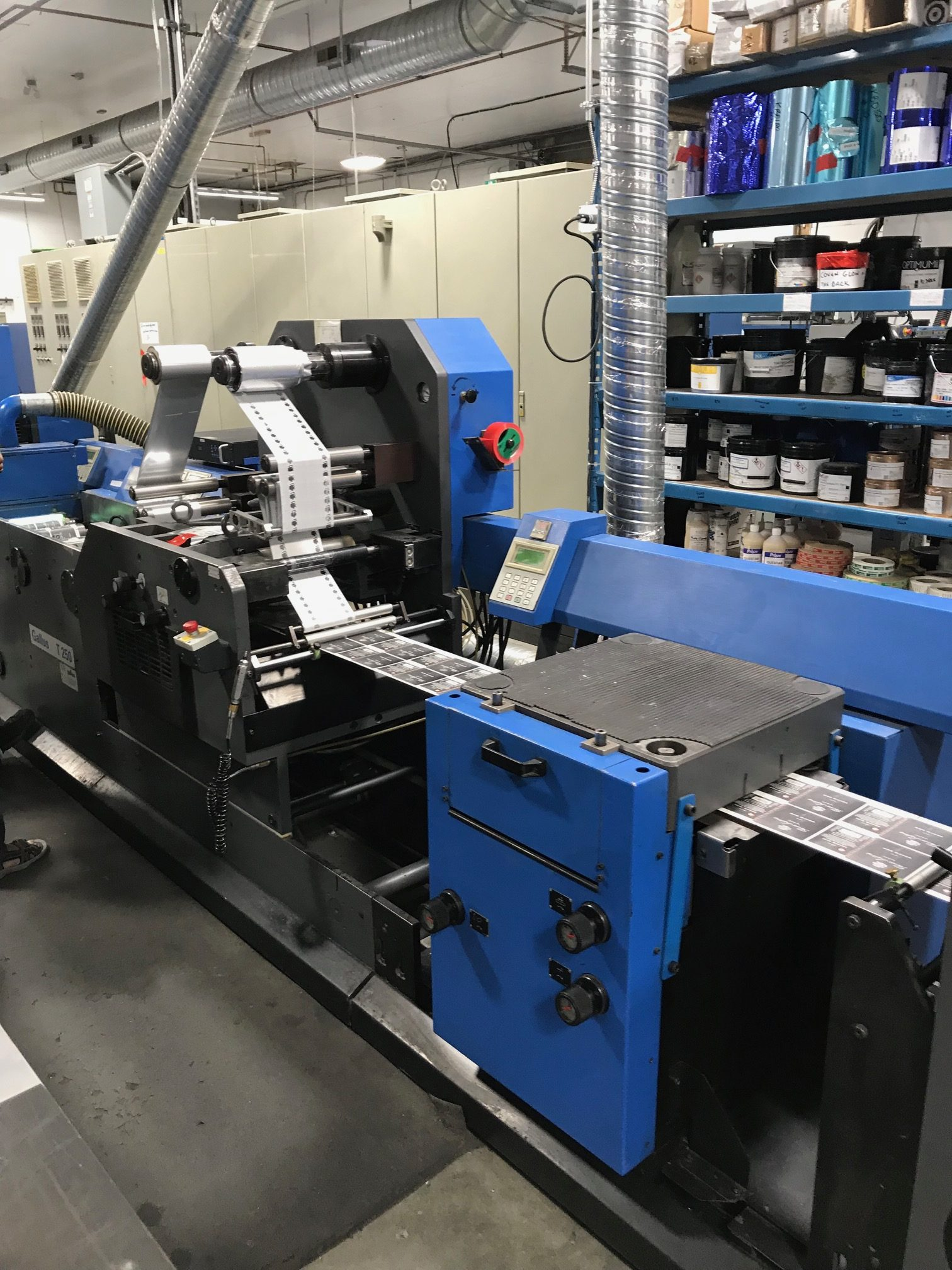 Gallus TCS250 - Used Flexo Printing Presses and Used Flexographic Equipment-4