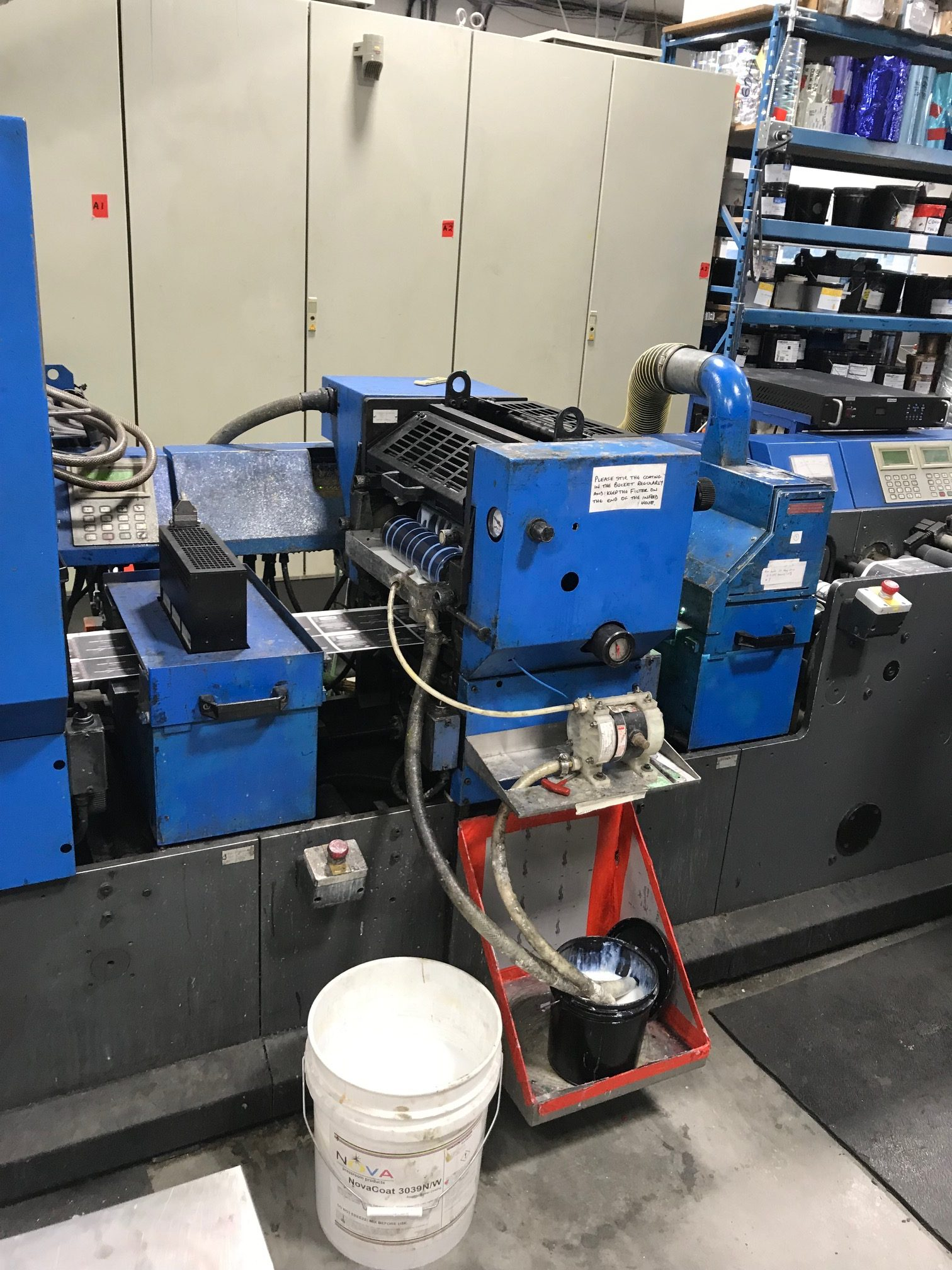 Gallus TCS250 - Used Flexo Printing Presses and Used Flexographic Equipment-5