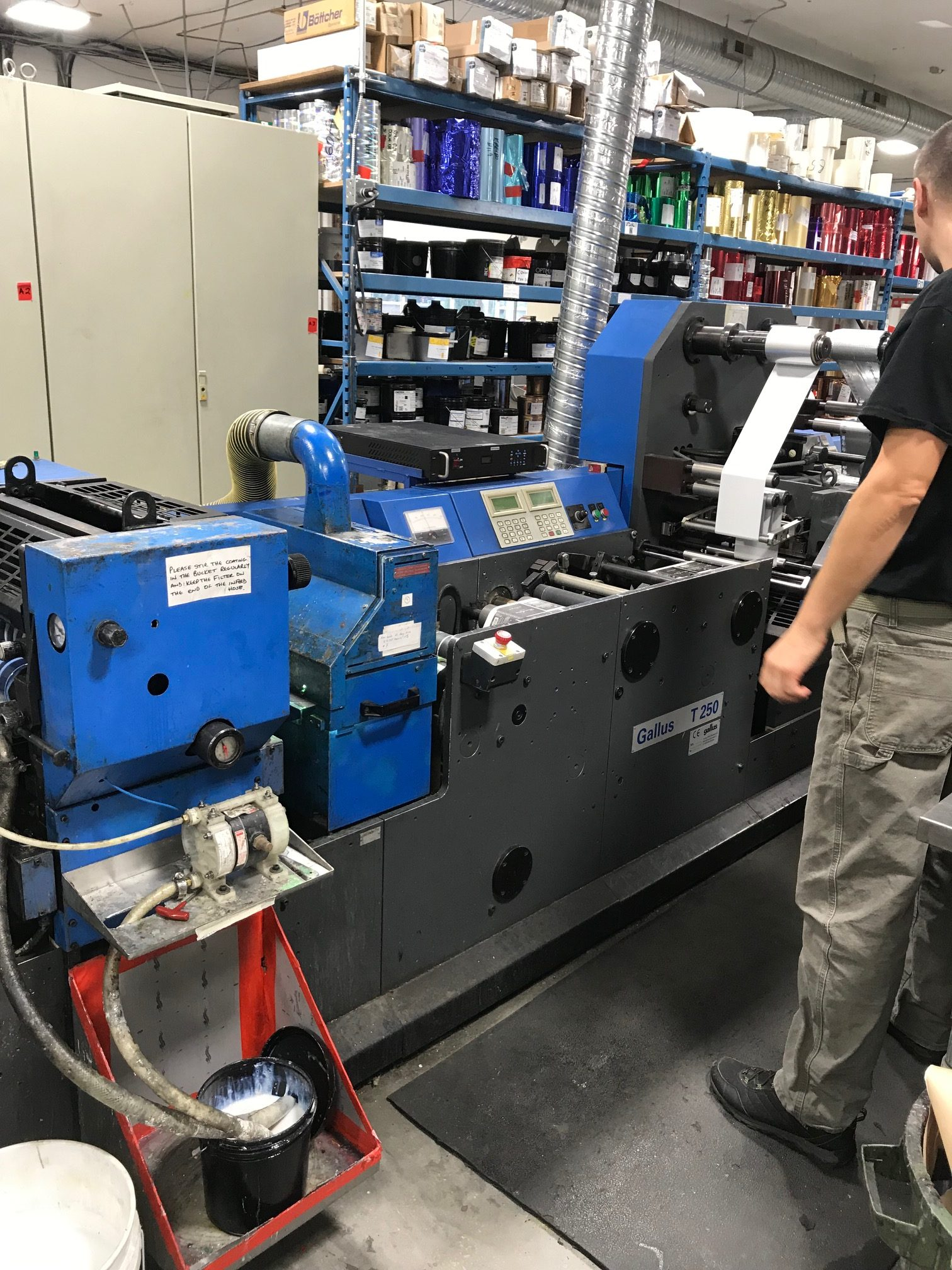 Gallus TCS250 - Used Flexo Printing Presses and Used Flexographic Equipment-6
