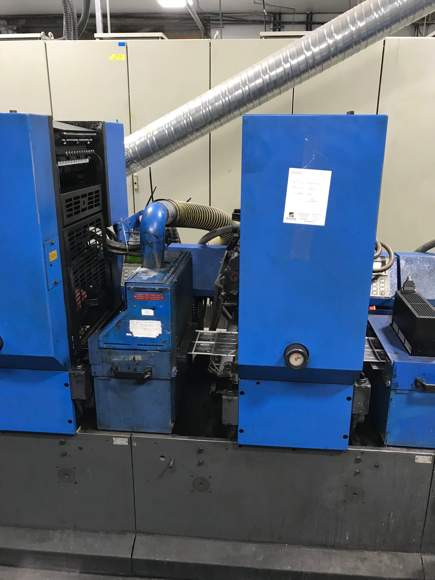 Gallus TCS250 - Used Flexo Printing Presses and Used Flexographic Equipment-7