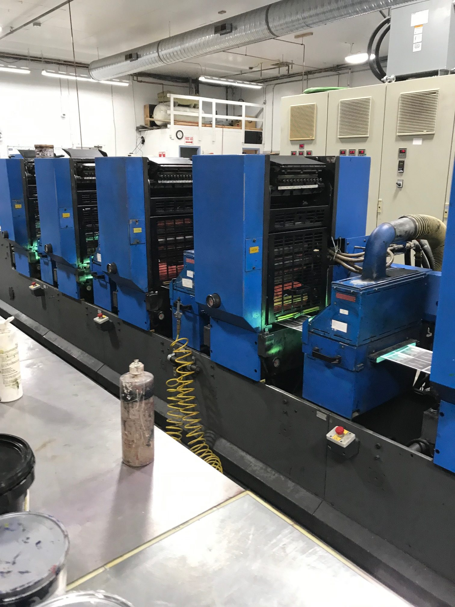 Gallus TCS250 - Used Flexo Printing Presses and Used Flexographic Equipment-8
