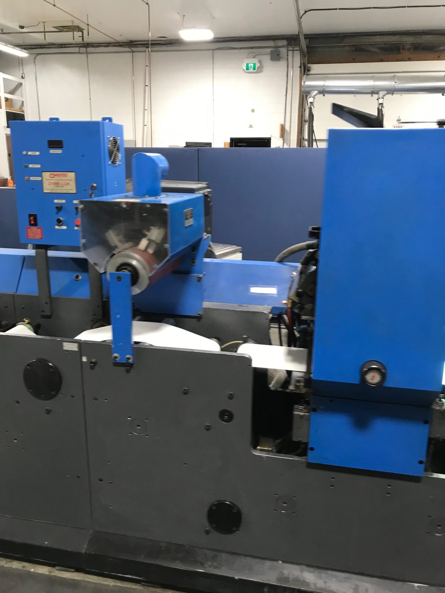 Gallus TCS250 - Used Flexo Printing Presses and Used Flexographic Equipment-10
