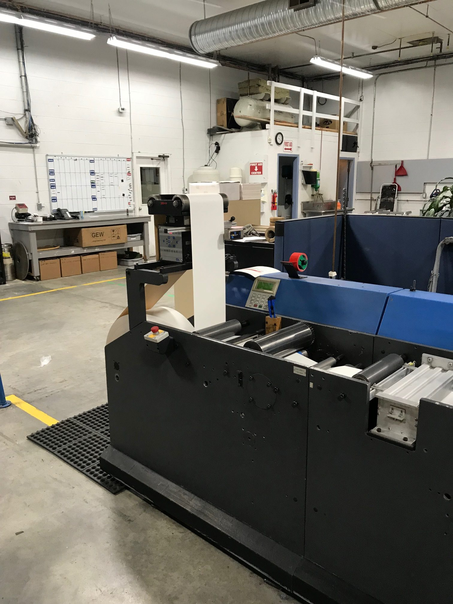 Gallus TCS250 - Used Flexo Printing Presses and Used Flexographic Equipment-11