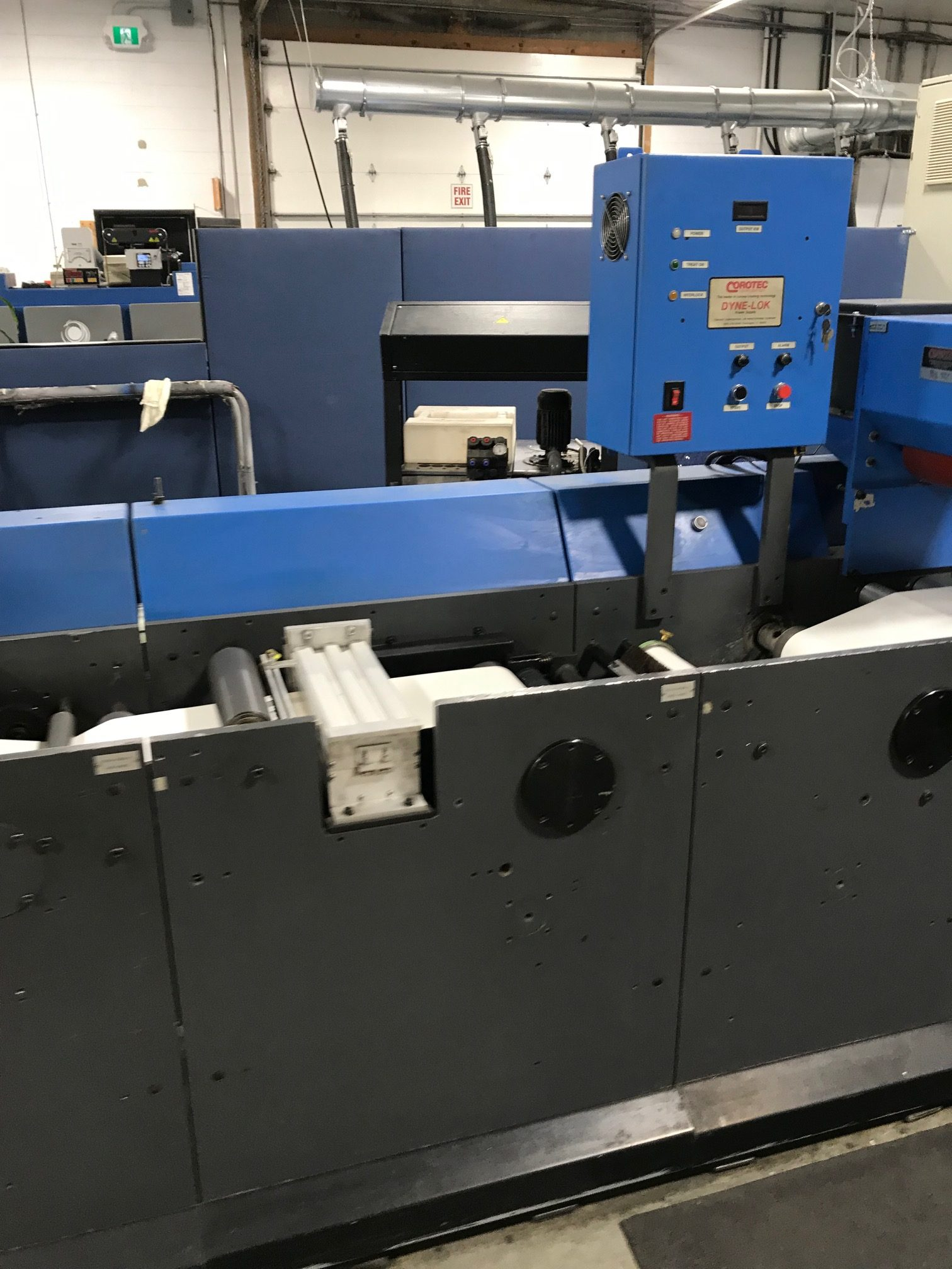 Gallus TCS250 - Used Flexo Printing Presses and Used Flexographic Equipment-12