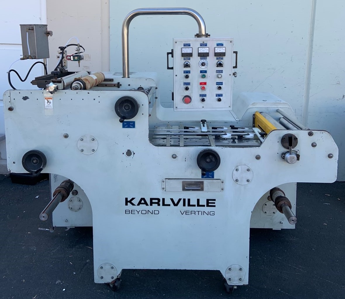 Karlville SEAM-200 - Used Flexo Printing Presses and Used Flexographic Equipment-0