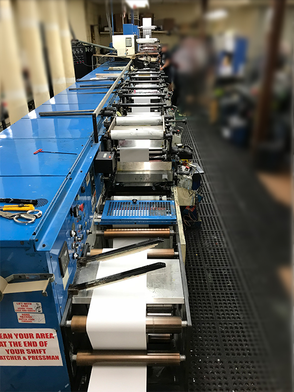 Rotopress 3513 - Used Flexo Printing Presses and Used Flexographic Equipment-2