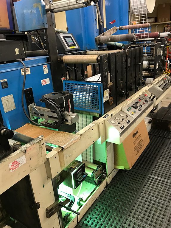 Rotopress 3513 - Used Flexo Printing Presses and Used Flexographic Equipment-4