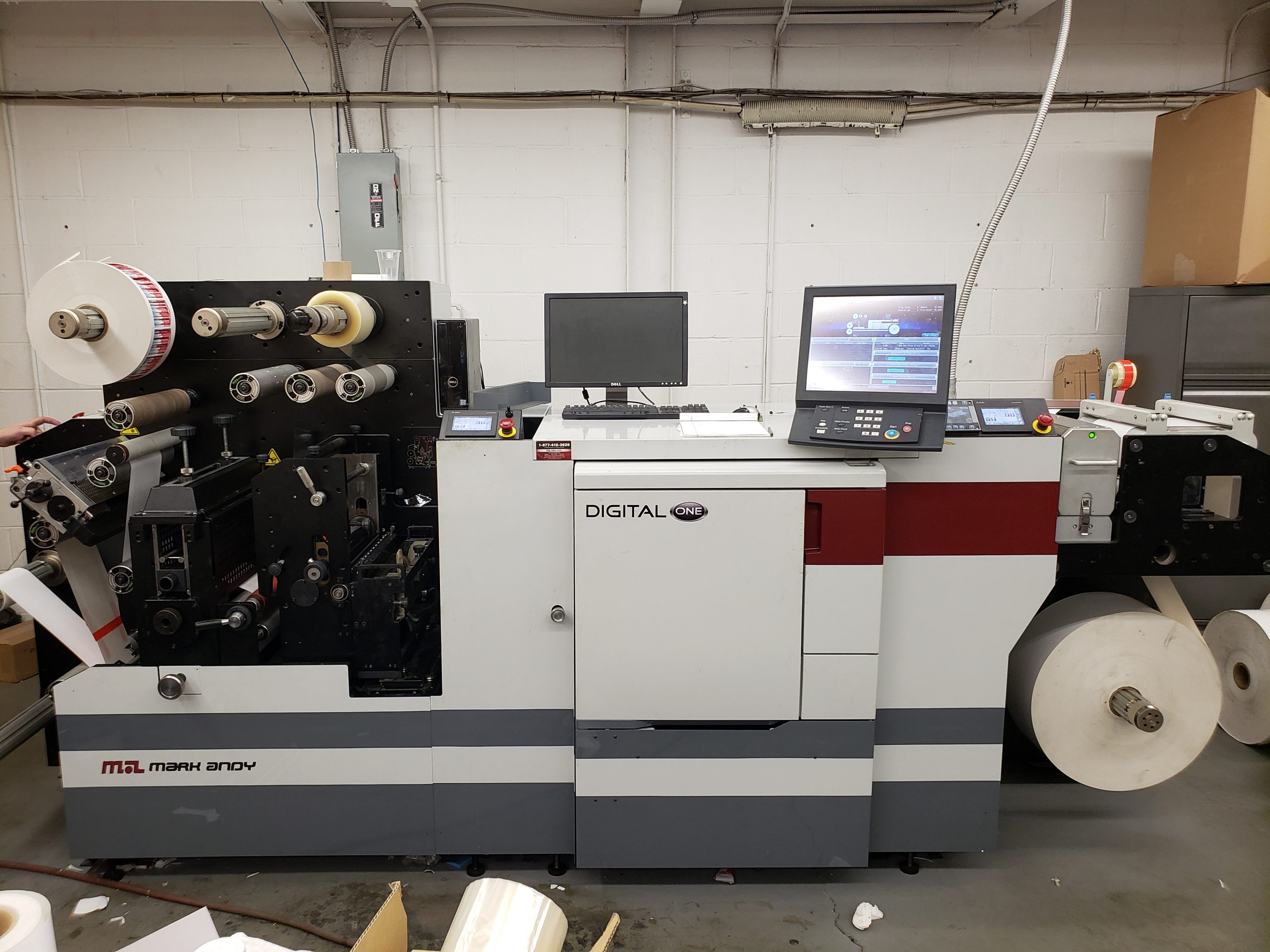 Mark Andy Digital One - Used Flexo Printing Presses and Used Flexographic Equipment-0