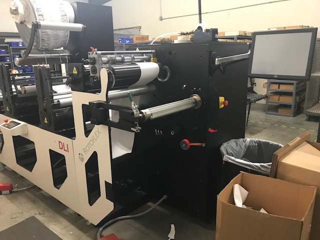 Rotoflex DLI440 - Used Flexo Printing Presses and Used Flexographic Equipment-7