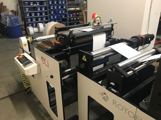 Rotoflex DLI440 - Used Flexo Printing Presses and Used Flexographic Equipment-9