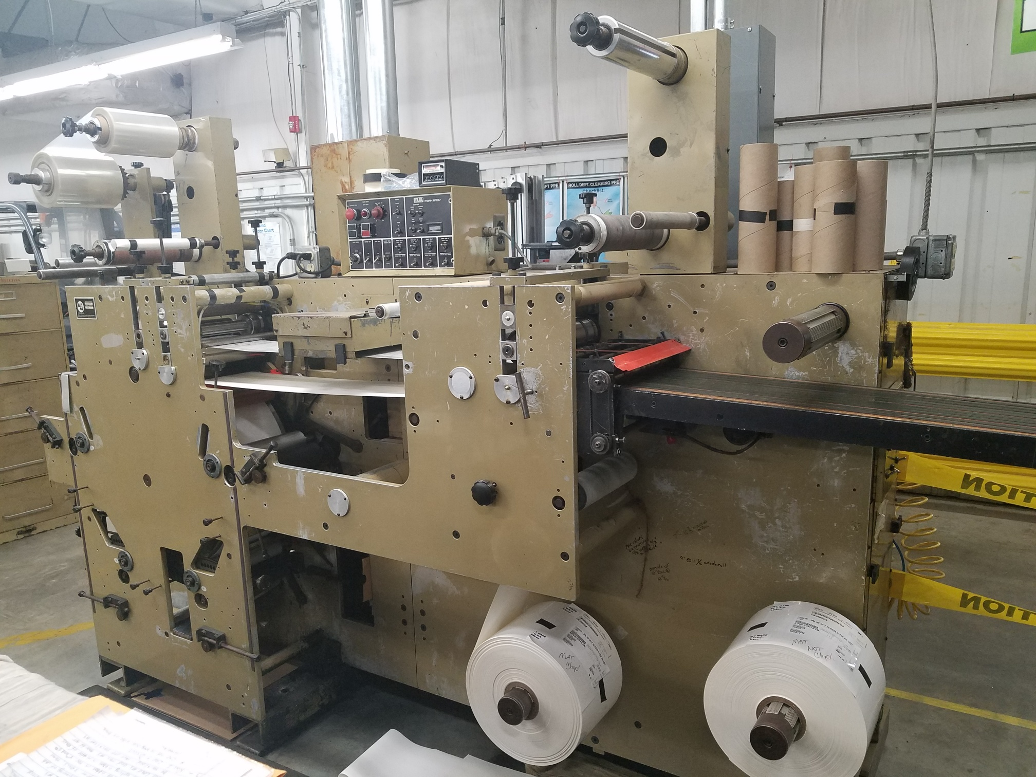 Mark Andy 910 - Used Flexo Printing Presses and Used Flexographic Equipment-0