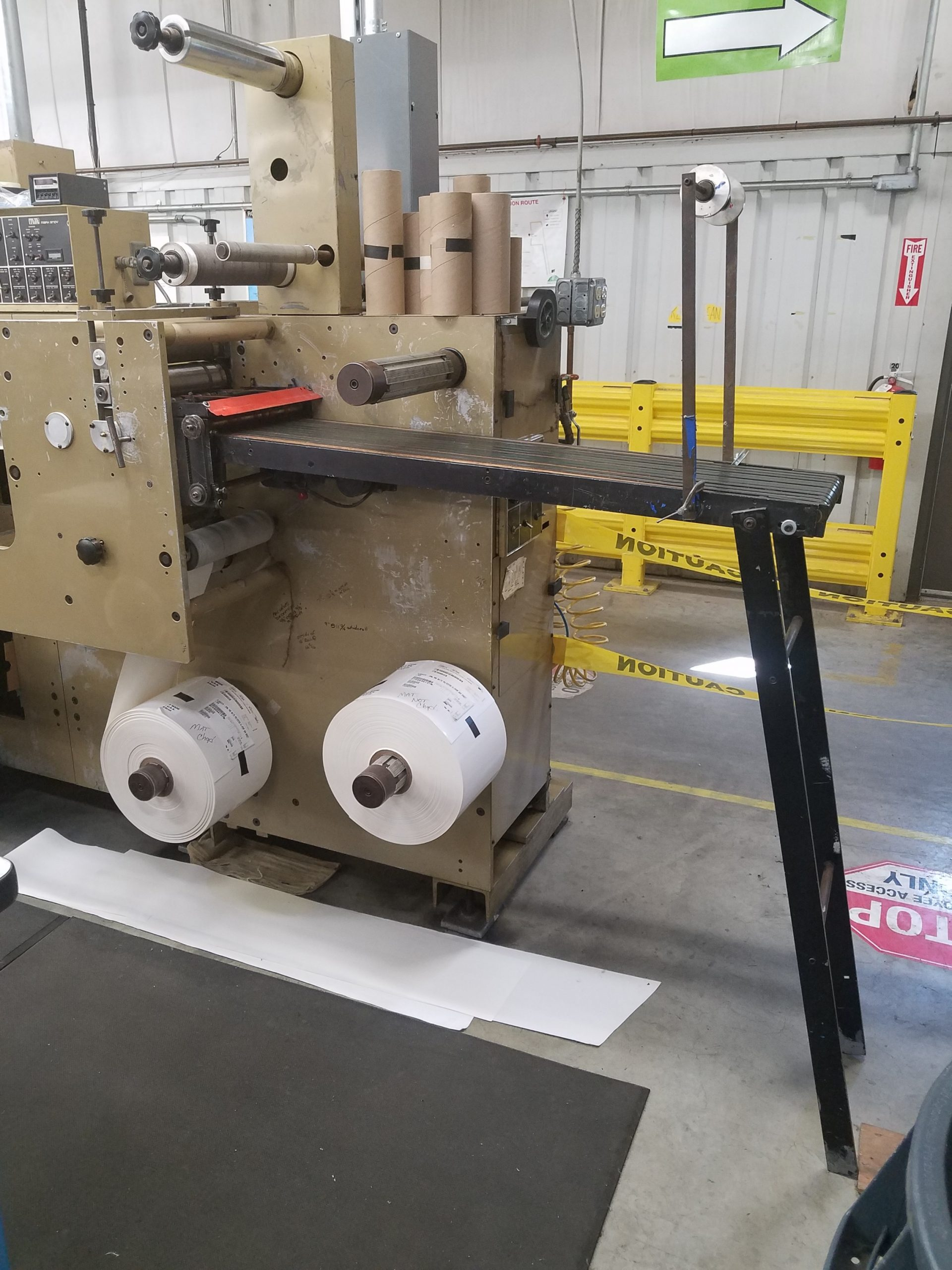 Mark Andy 910 - Used Flexo Printing Presses and Used Flexographic Equipment-5