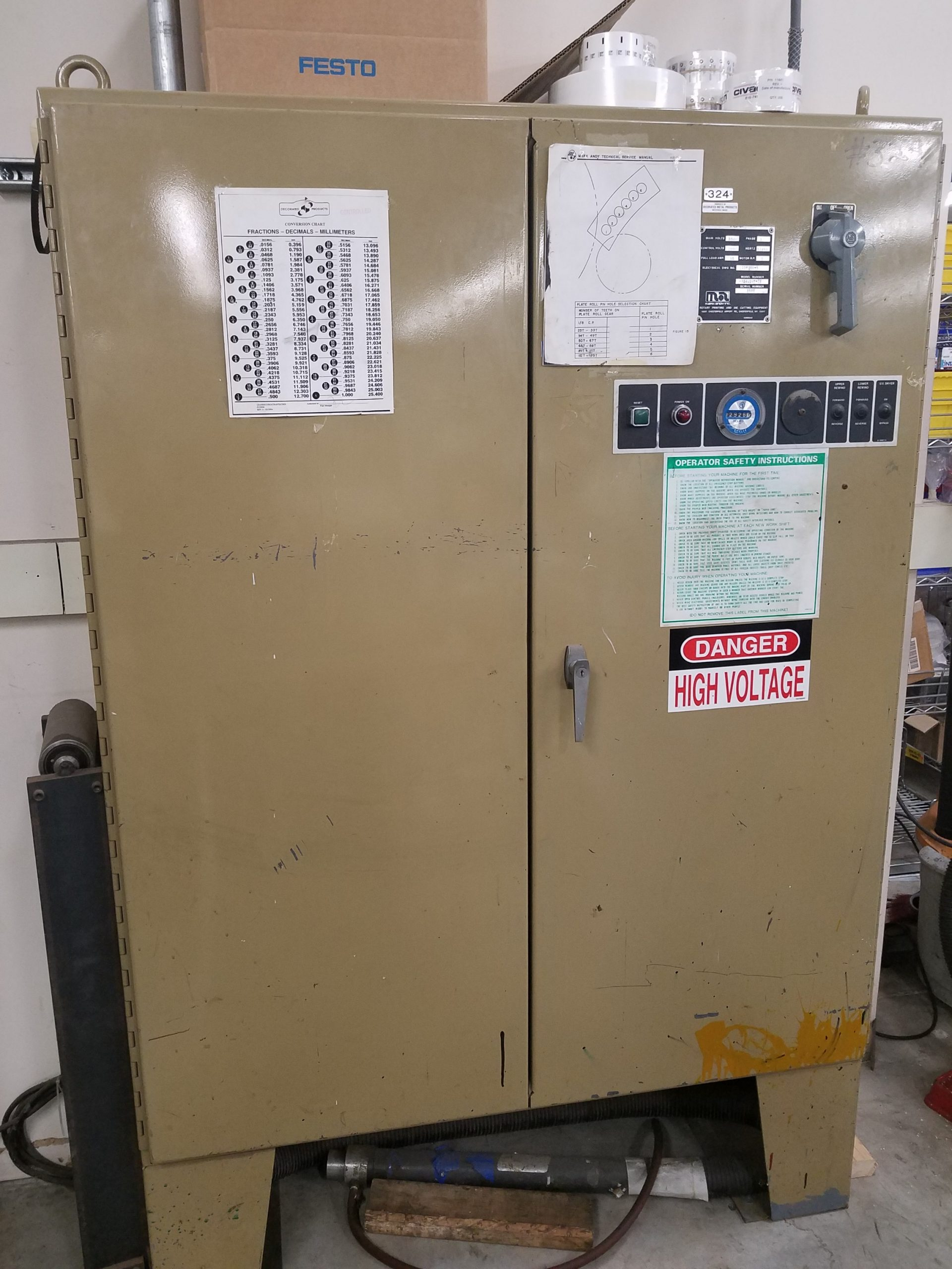 Mark Andy 910 - Used Flexo Printing Presses and Used Flexographic Equipment-6