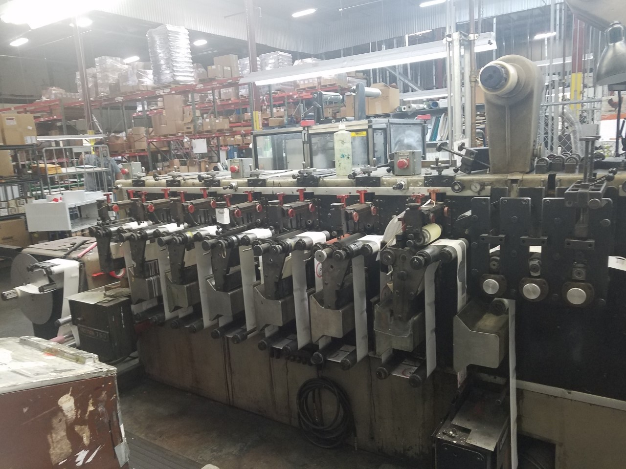 Webtron 750 - Used Flexo Printing Presses and Used Flexographic Equipment-0