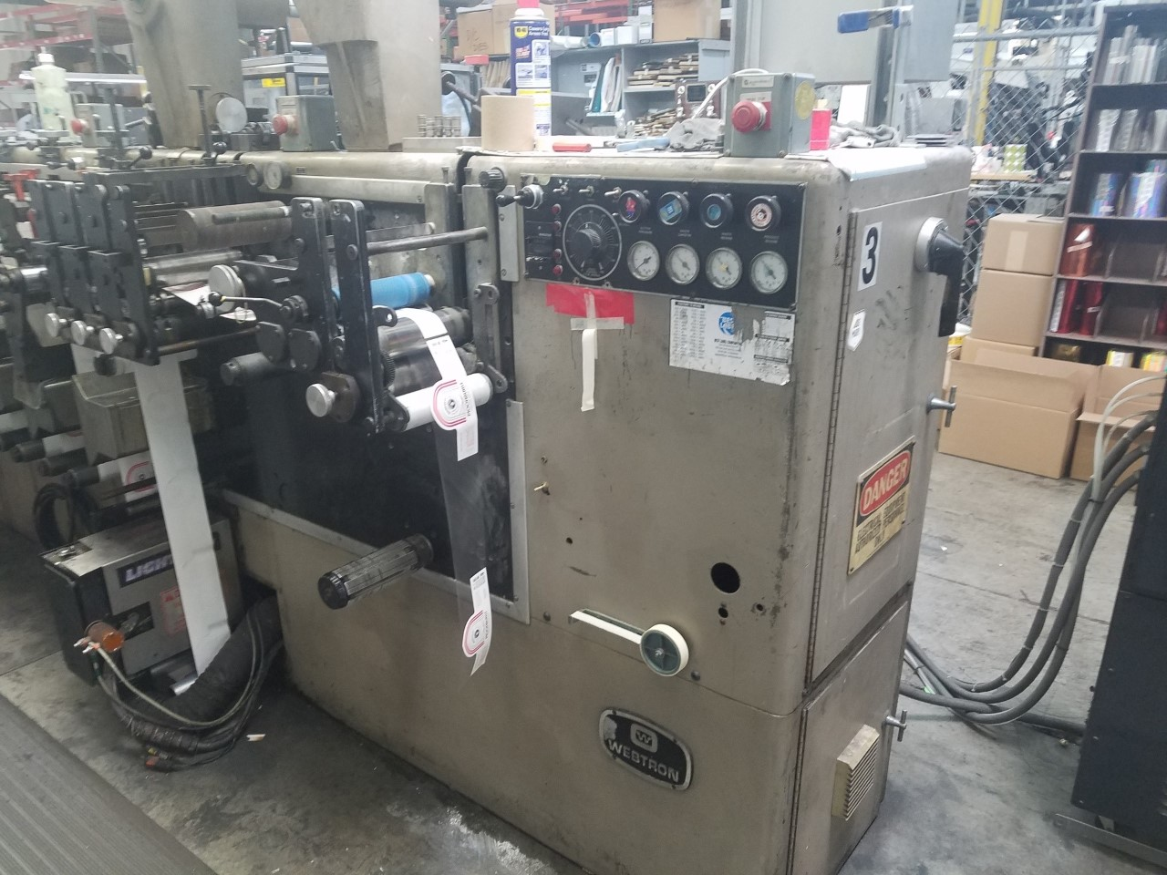 Webtron 750 - Used Flexo Printing Presses and Used Flexographic Equipment-2
