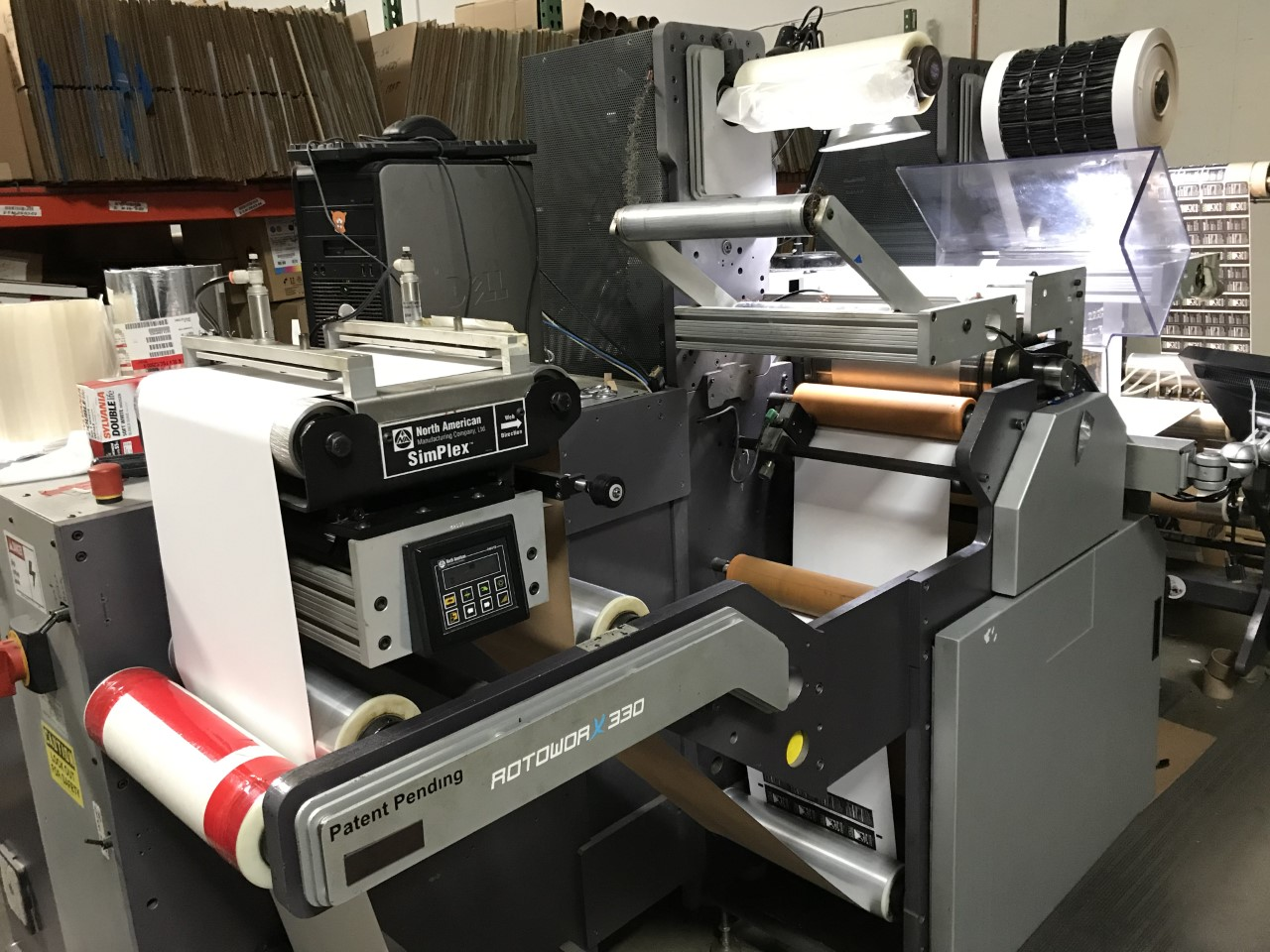Rotoworx 330 - Used Flexo Printing Presses and Used Flexographic Equipment-0