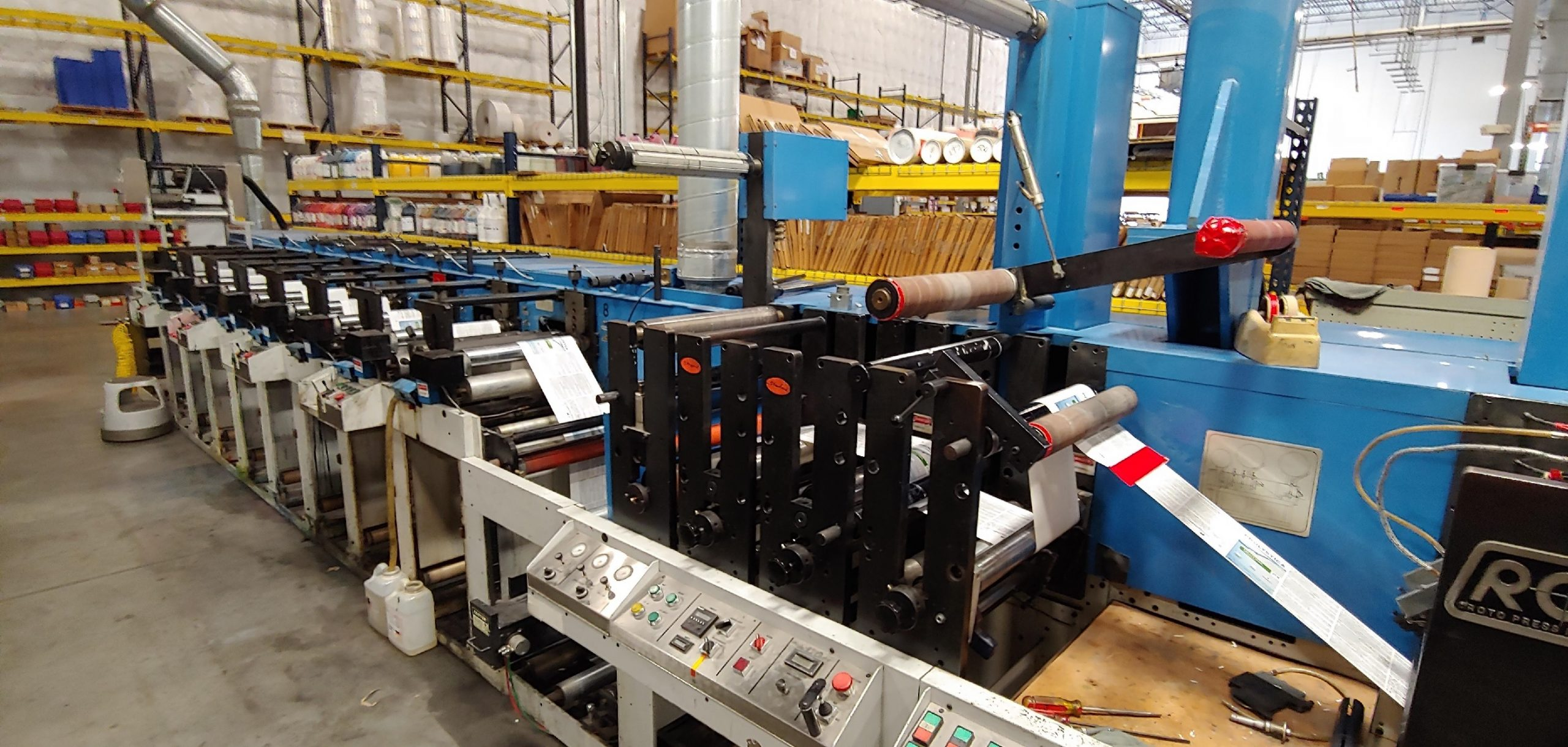 Rotopress 3516 - Used Flexo Printing Presses and Used Flexographic Equipment-0