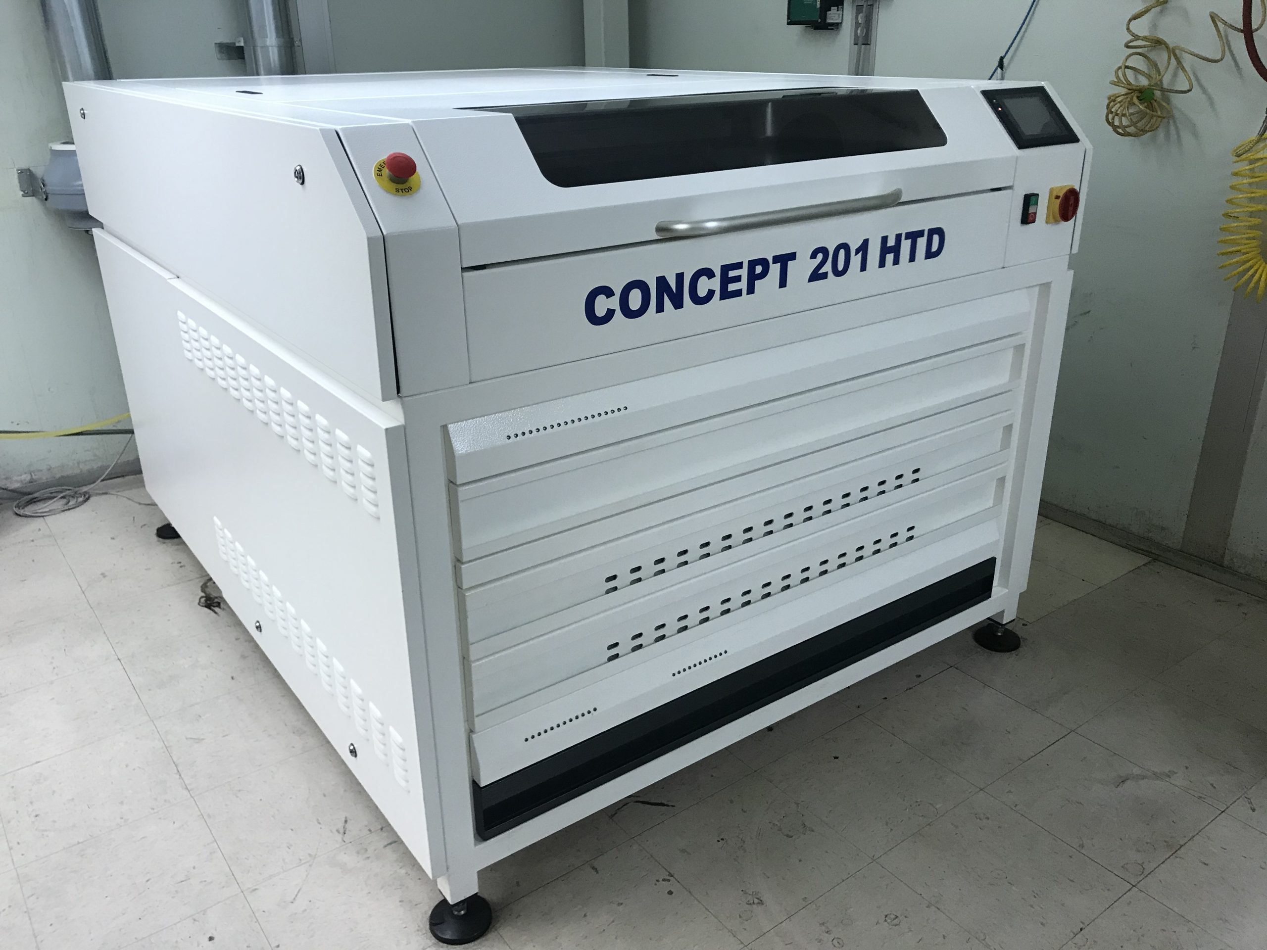 Degraf Concept 201 HTD - Used Flexo Printing Presses and Used Flexographic Equipment-0
