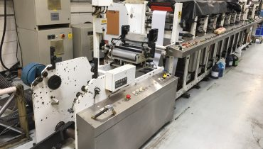 Aquaflex LCQXX-1008 - Used Flexo Printing Presses and Used Flexographic Equipment