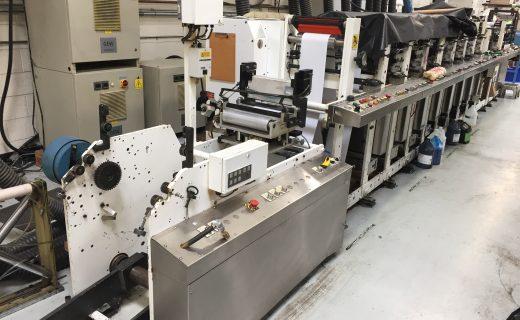Aquaflex LCQXX-1008 - Used Flexo Printing Presses and Used Flexographic Equipment