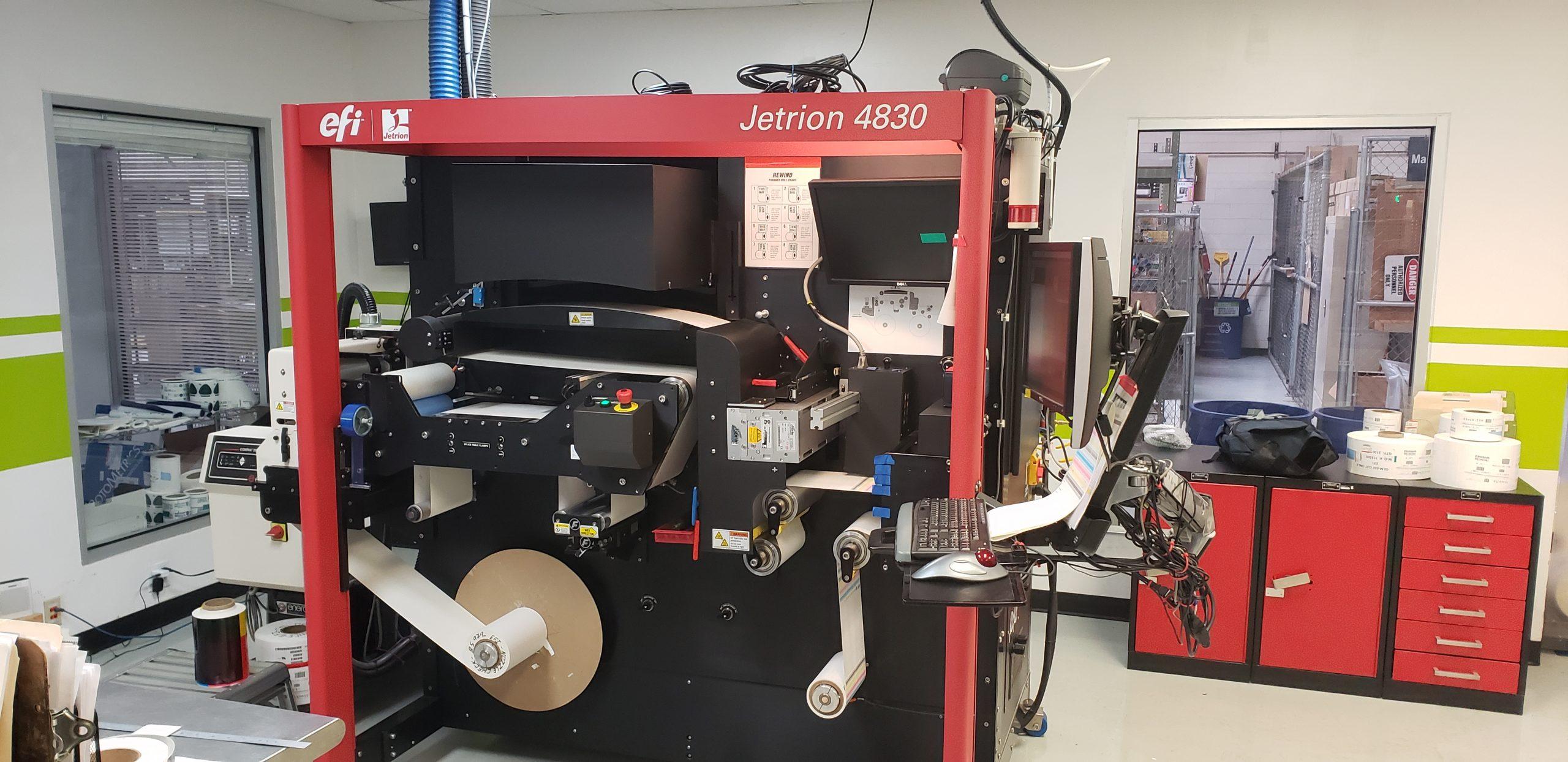 EFI Jetrion 4830 - Used Flexo Printing Presses and Used Flexographic Equipment-0