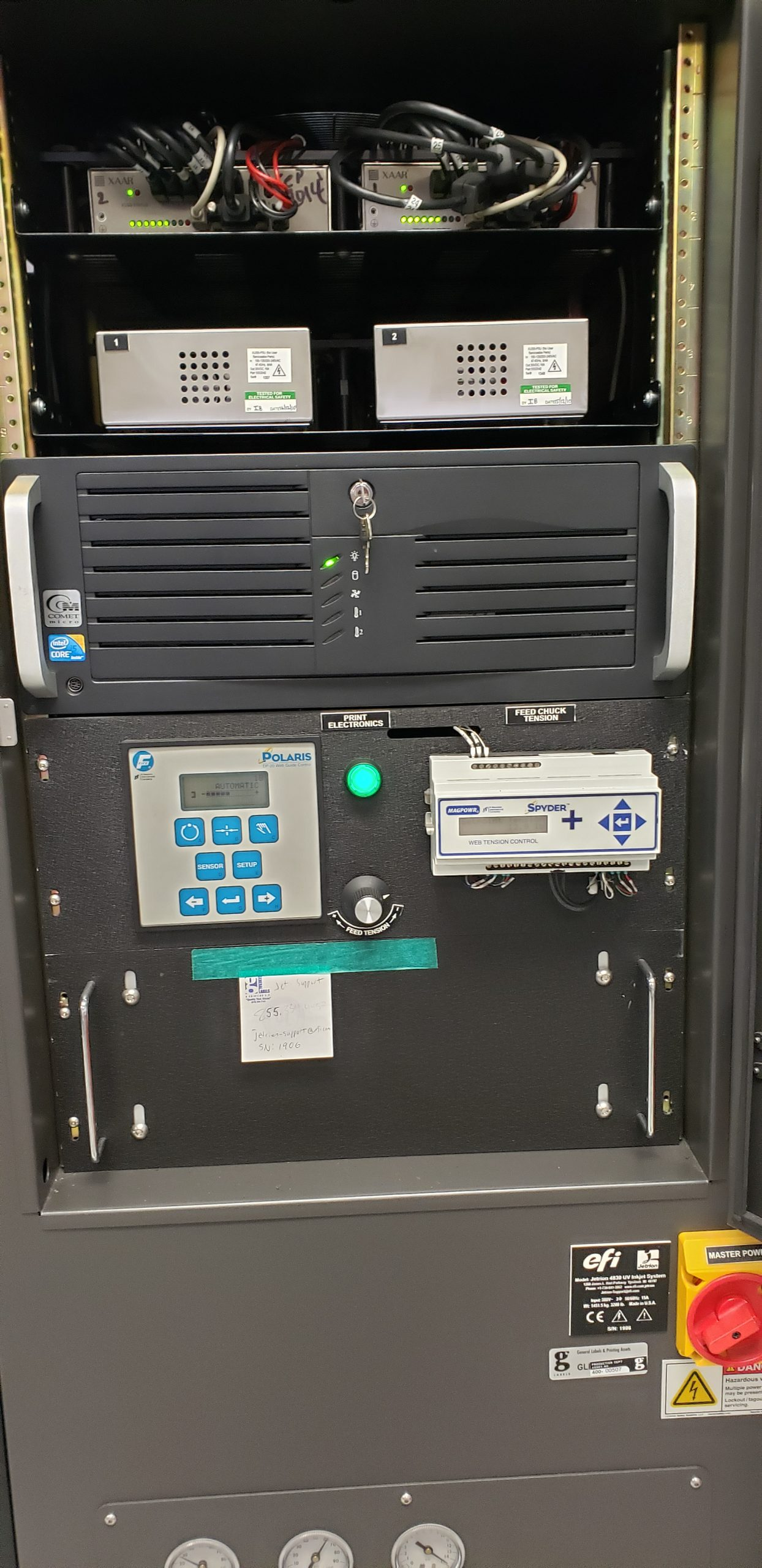 EFI Jetrion 4830 - Used Flexo Printing Presses and Used Flexographic Equipment-2