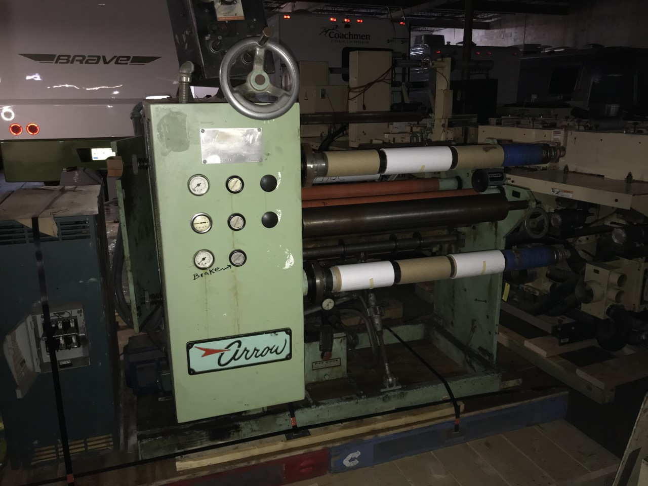 Arrow Model 325-21 - Used Flexo Printing Presses and Used Flexographic Equipment-1