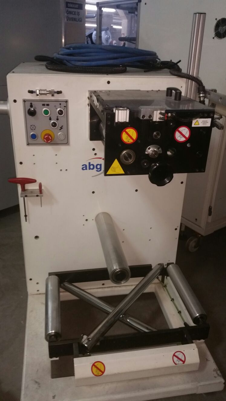 ABG Vectra SGTR 330-4 - Used Flexo Printing Presses and Used Flexographic Equipment-6