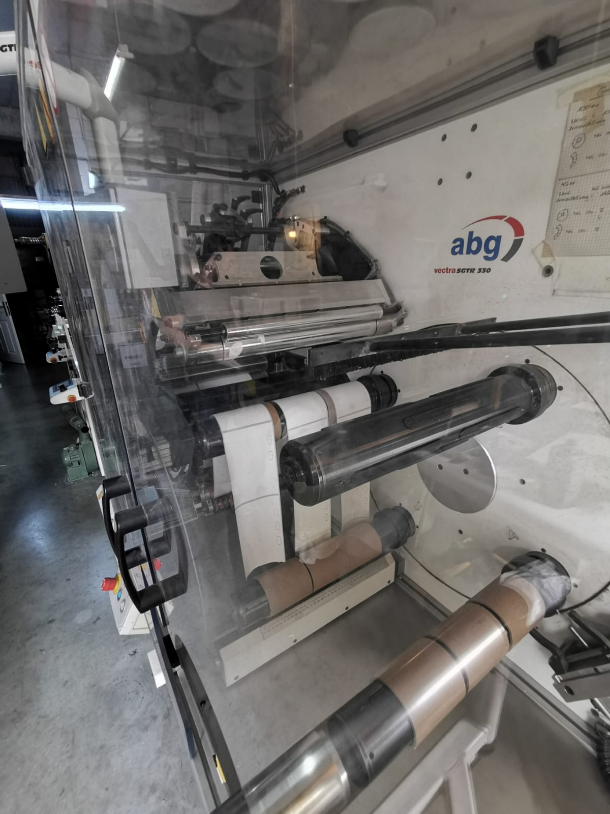 ABG Vectra SGTR 330-4 - Used Flexo Printing Presses and Used Flexographic Equipment-10
