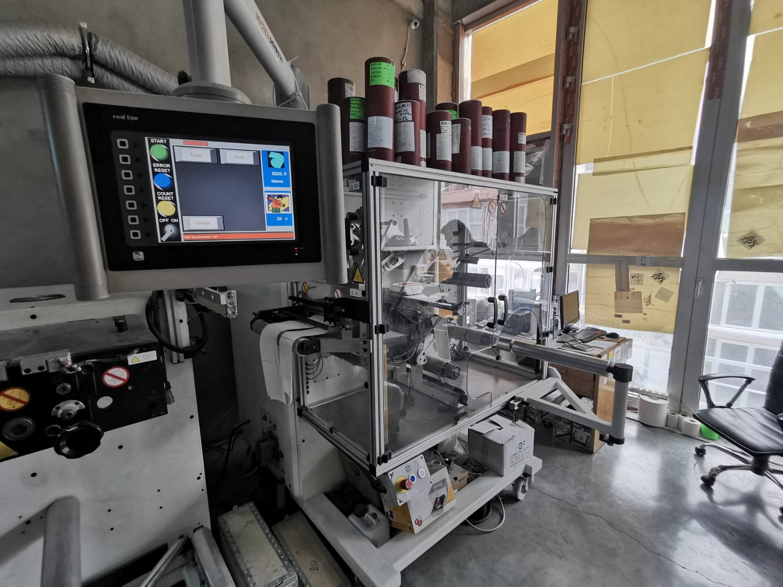 ABG Vectra SGTR 330-4 - Used Flexo Printing Presses and Used Flexographic Equipment-11