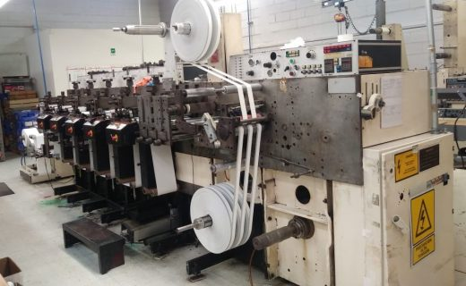 Nilpeter F200 - Used Flexo Printing Presses and Used Flexographic Equipment