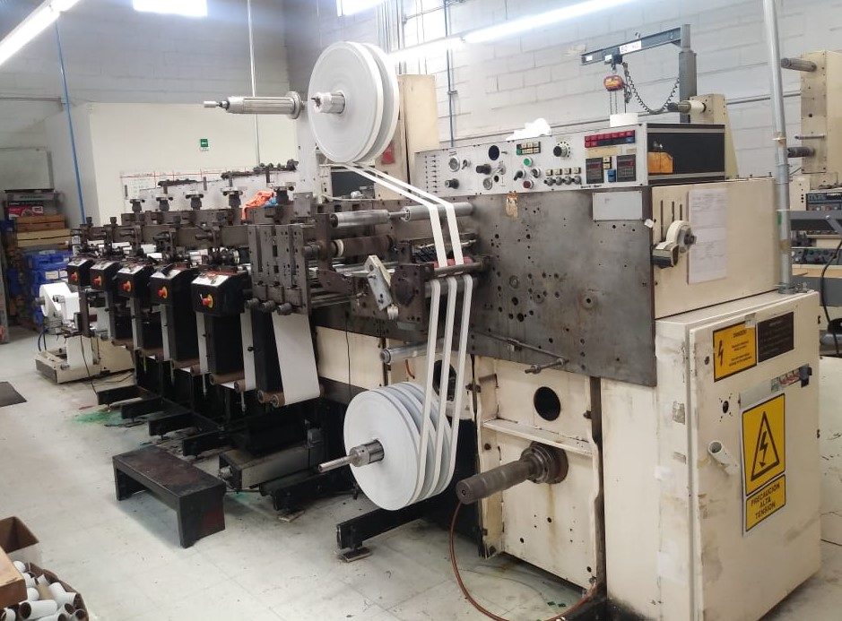 Nilpeter F200 - Used Flexo Printing Presses and Used Flexographic Equipment-0