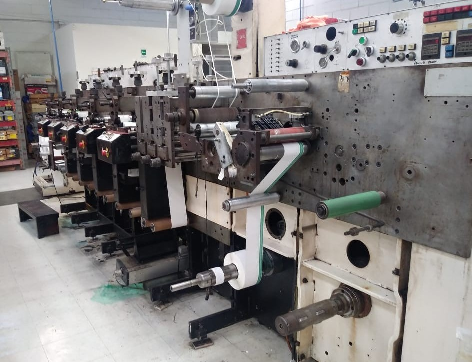 Nilpeter F200 - Used Flexo Printing Presses and Used Flexographic Equipment-2