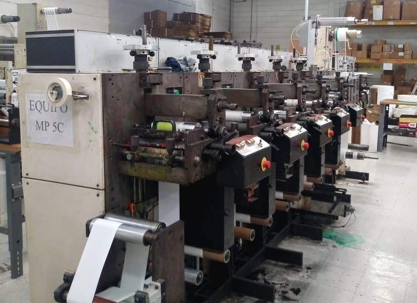Nilpeter F200 - Used Flexo Printing Presses and Used Flexographic Equipment-3
