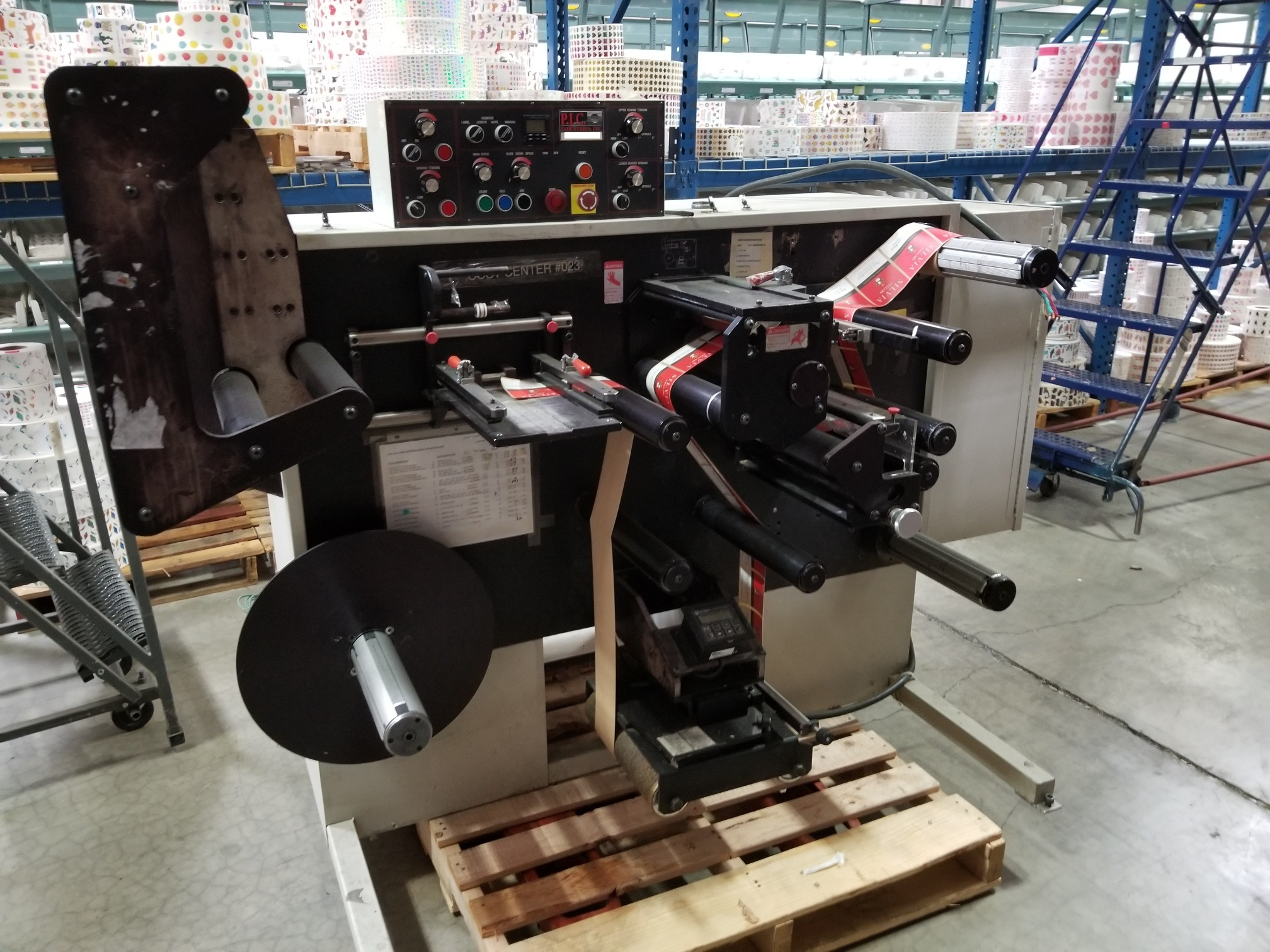 PIC Model 100 - Used Flexo Printing Presses and Used Flexographic Equipment-0