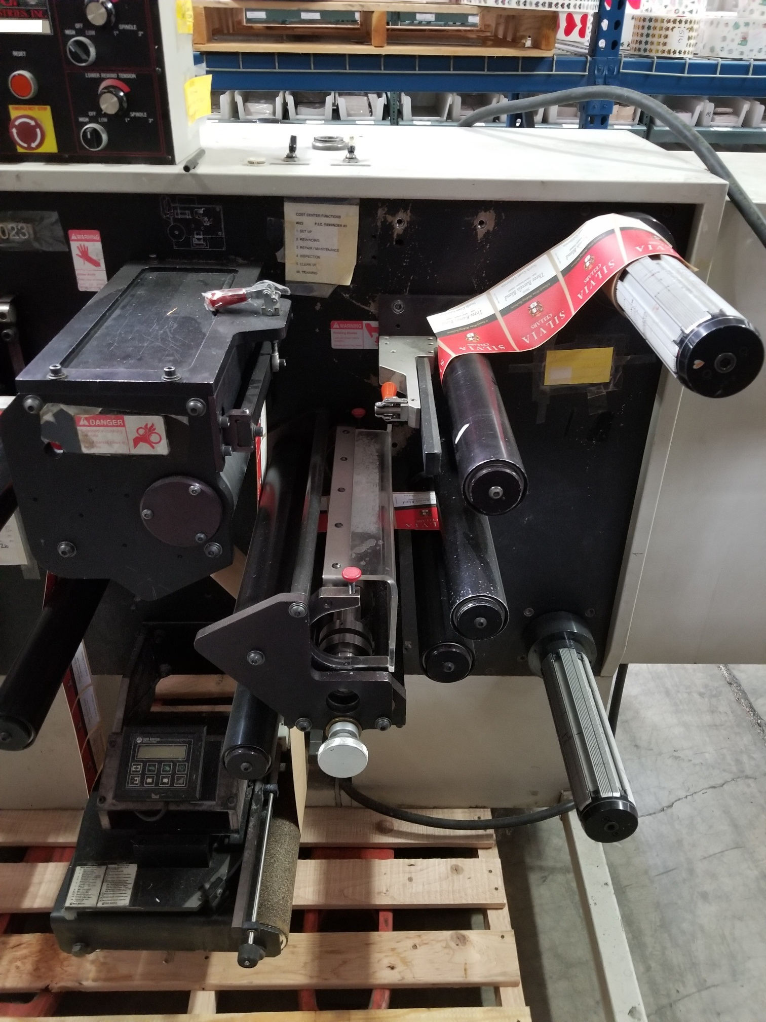 PIC Model 100 - Used Flexo Printing Presses and Used Flexographic Equipment-3