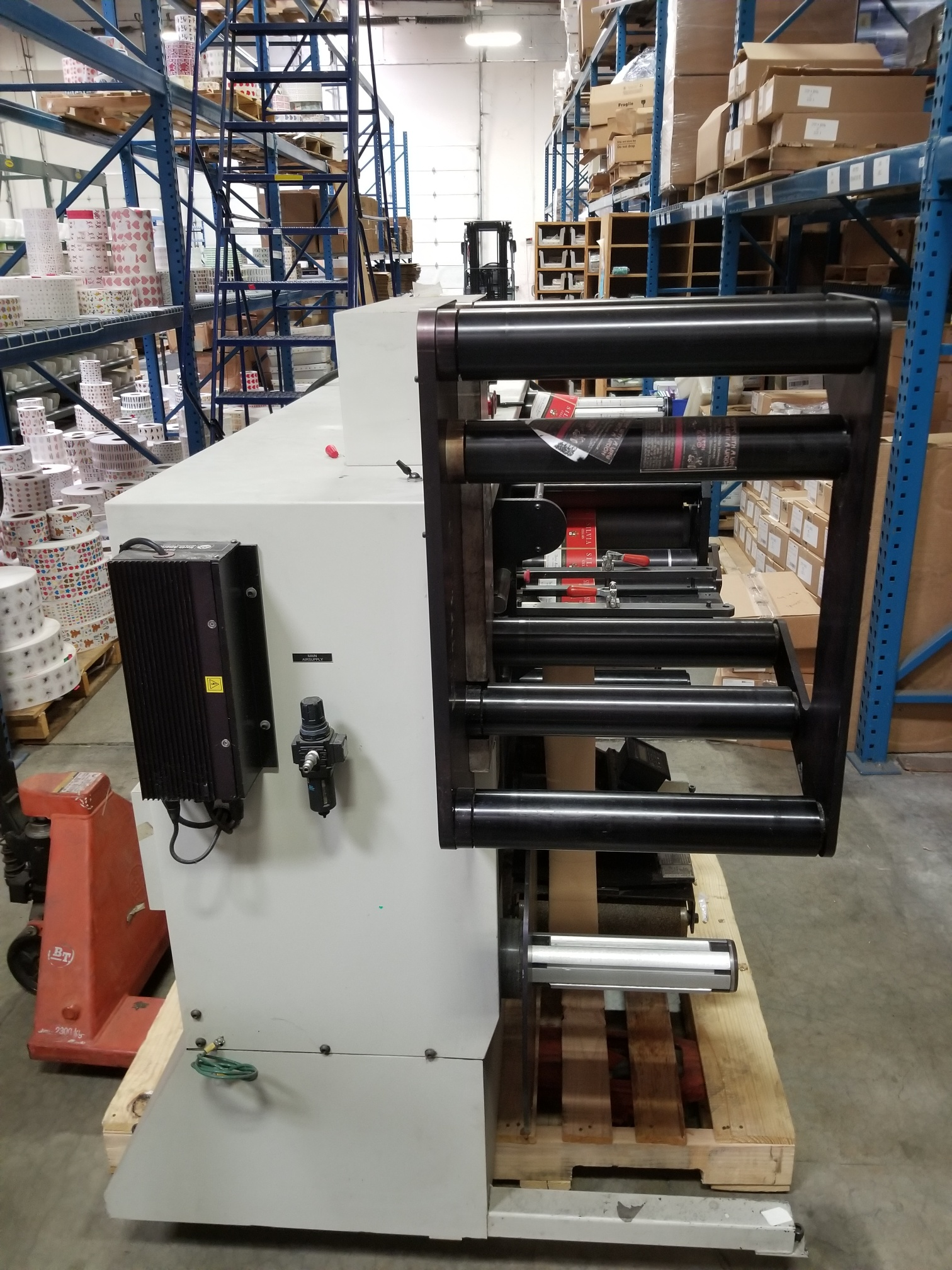 PIC Model 100 - Used Flexo Printing Presses and Used Flexographic Equipment-4