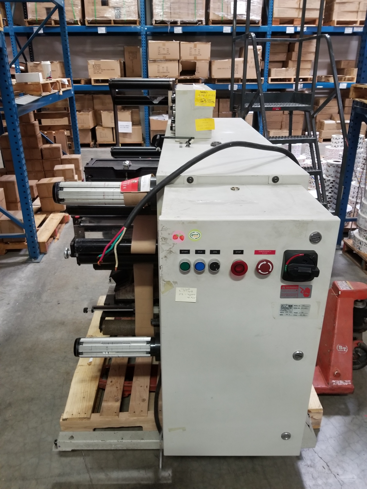 PIC Model 100 - Used Flexo Printing Presses and Used Flexographic Equipment-5