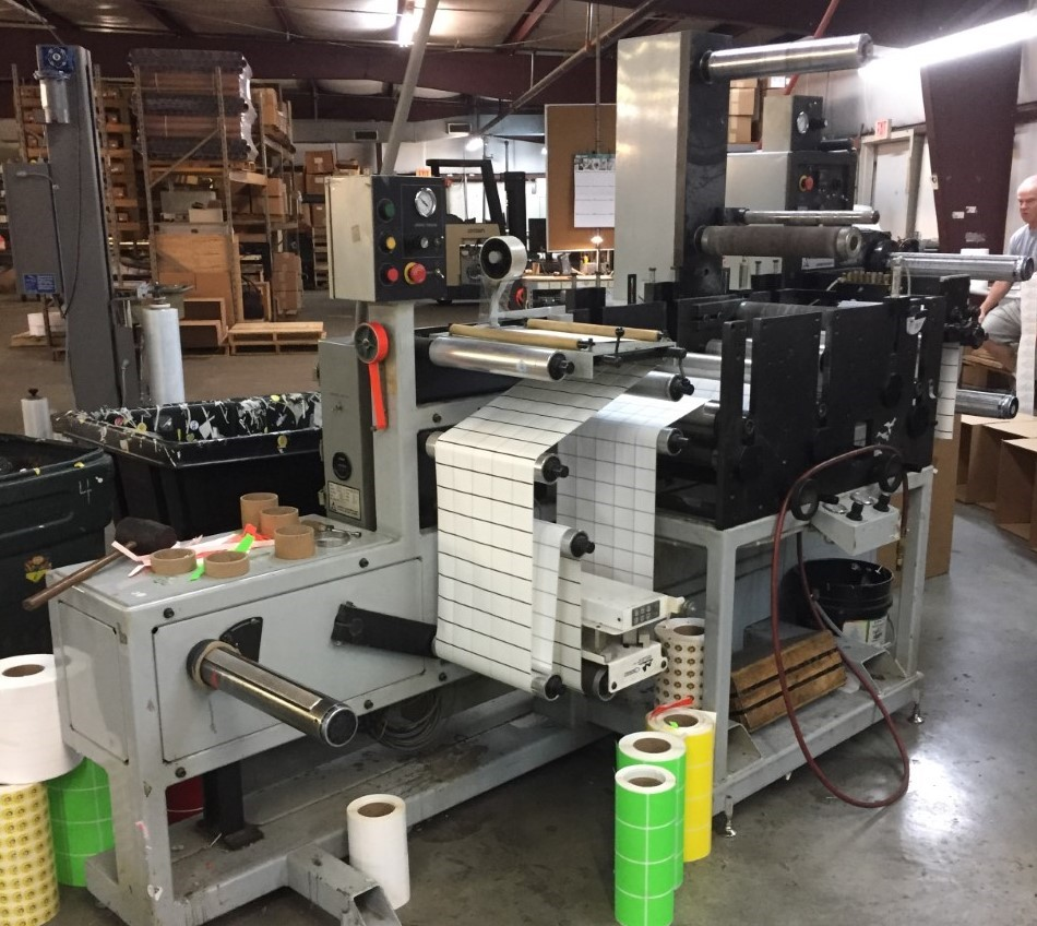 Aztech Diemaster DM-4013 - Used Flexo Printing Presses and Used Flexographic Equipment-0