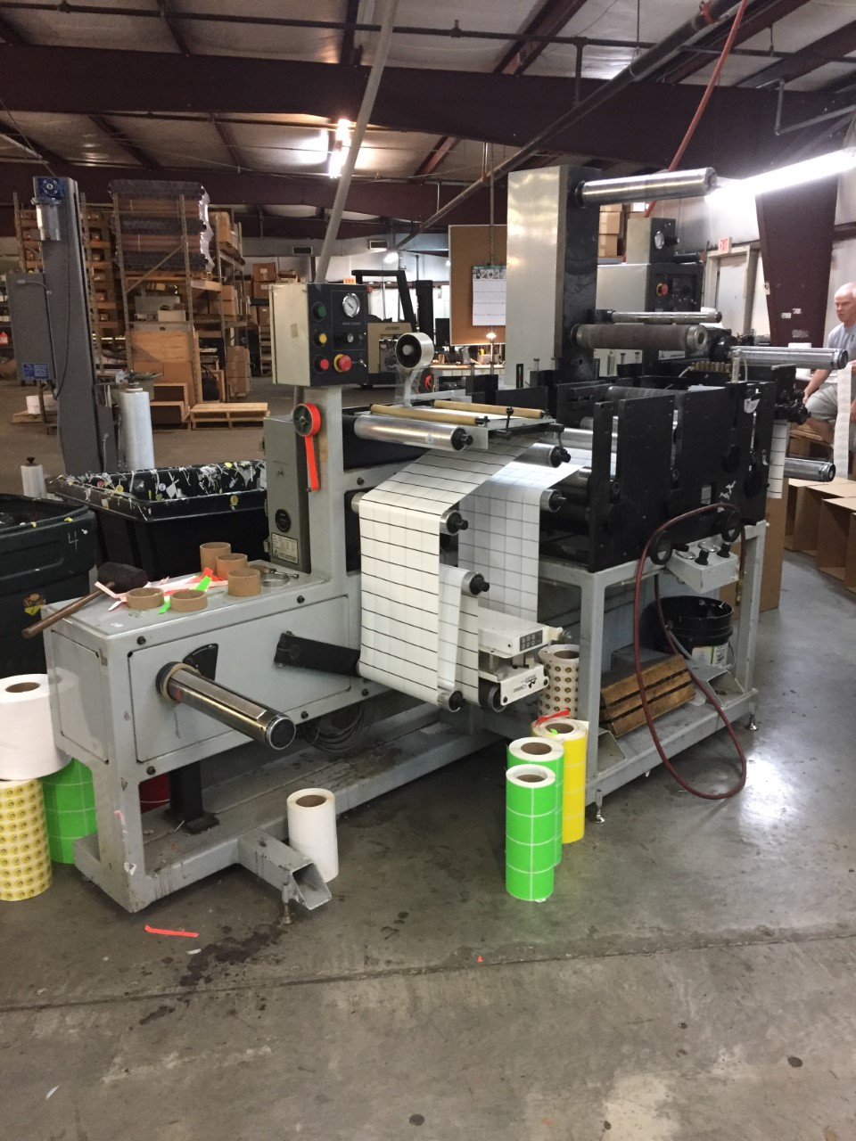 Aztech Diemaster DM-4013 - Used Flexo Printing Presses and Used Flexographic Equipment-2
